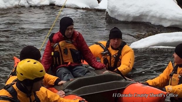 Men Who Fled Police Later Needed Rescue From Snow
