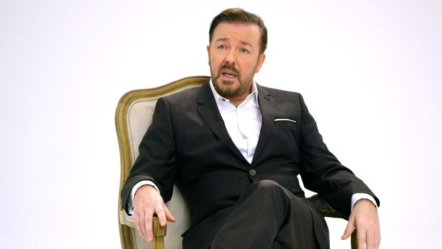Gervais Talks Hosting Golden Globes for Fourth Time
