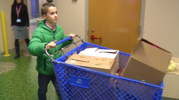 'Hatsgiving': Boy Collects Hats for Young Cancer Patients