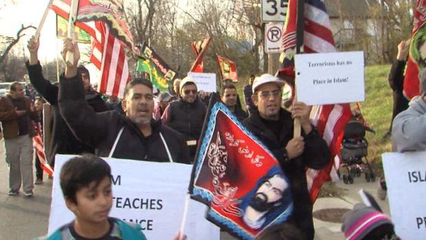 [NATL] Muslims March Against Terrorism in Kansas City