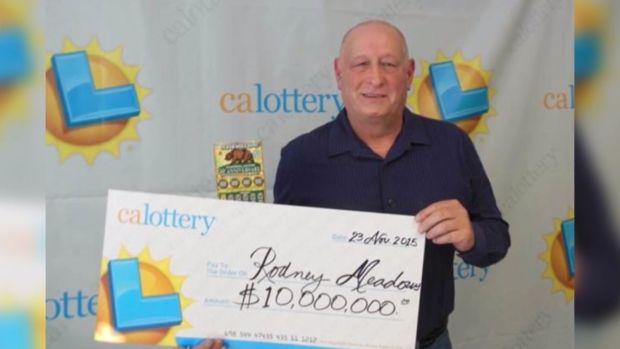 Luck Strikes Twice for California Man