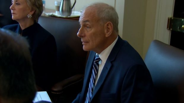 [NATL] John Kelly Begins First Full Day On The Job