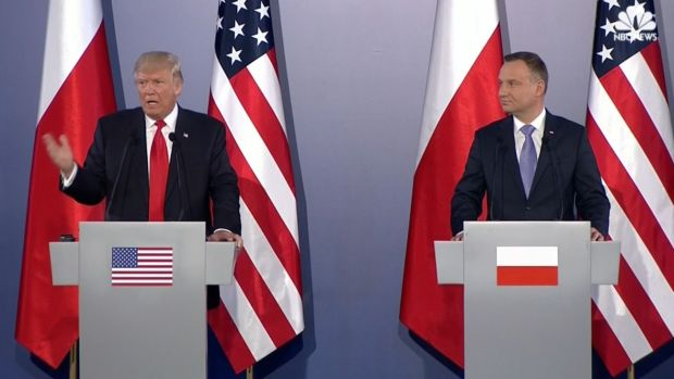 [NATL] Trump Visits Poland, Addresses European Countries