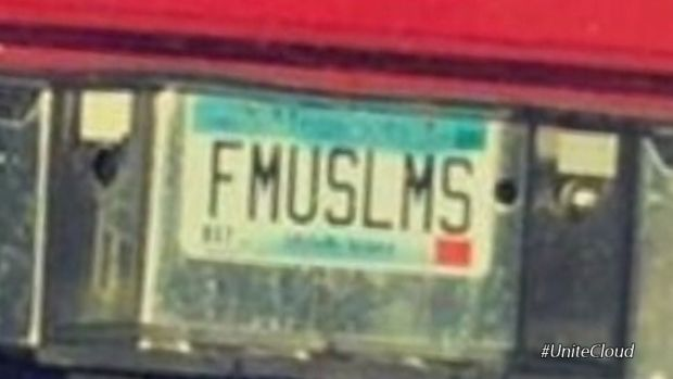 Offensive License Plate, 'FMUSLMS,' Is Revoked