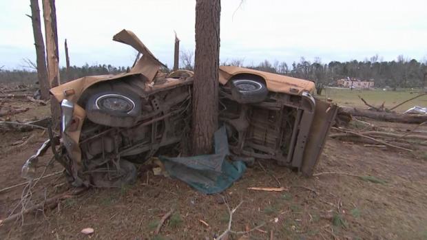 [NATL] 'Still Searching': Alabamans Sift Through Debris Left in Tornado's Path