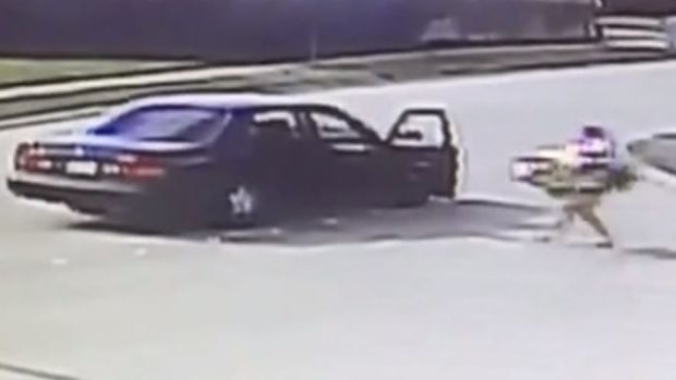 Caught on Cam: Thieves Steal Autistic Kid's Toy Car