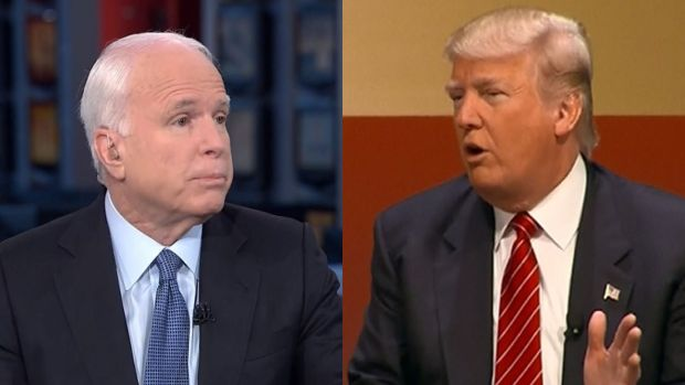 [NATL] McCain Calls Trump's Comments 'Totally Inappropriate