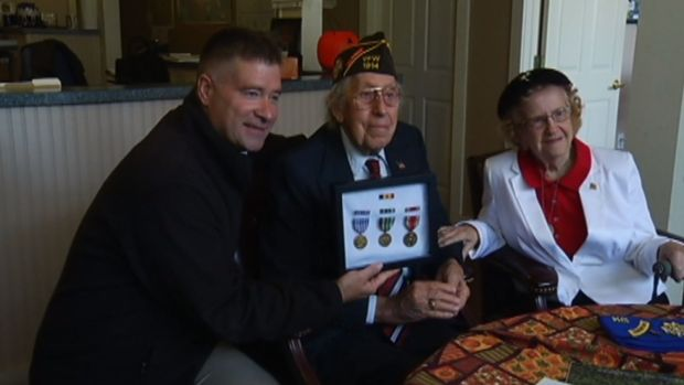 WWII Vet Finally Gets Overdue Medals