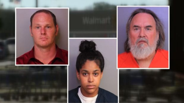 [NATL] 3 Wal-Mart Employees Charged in Death of Suspected Shoplifter