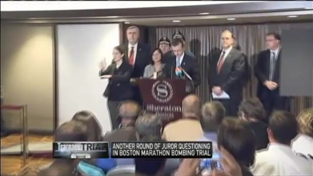 [NECN] Woman Chokes Up Describing Young Marathon Bombing Victim