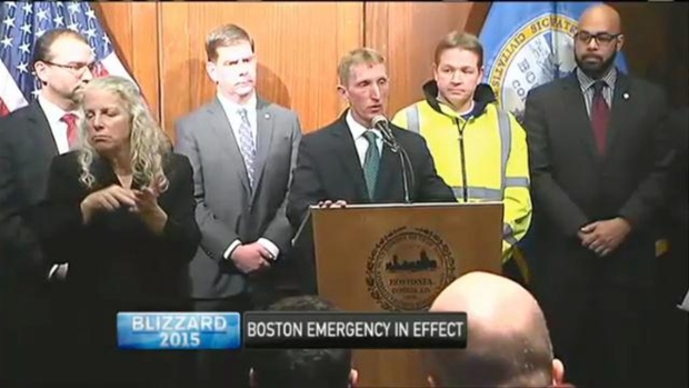 [NECN] In Boston, Cars on Emergency Ways Will Be Towed Starting at 8PM