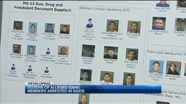 [NECN] Federal Authorities Charge 56 MS-13 Gang Members in Boston Area