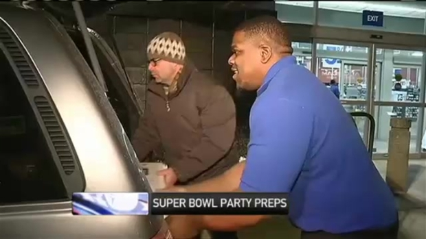 [NECN] Patriots Fans Ready for Super Bowl Parties
