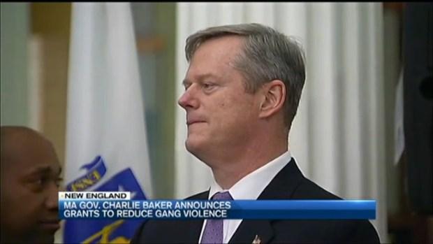 [NECN] Massachusetts Gov. Charlie Baker Announces Grants to Reduce Gang Violence