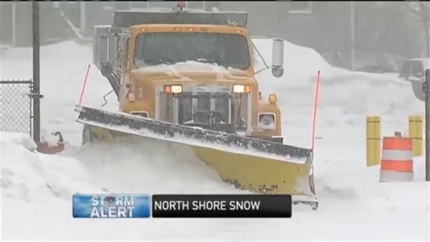 [NECN] North Shore Frustrated With Snow