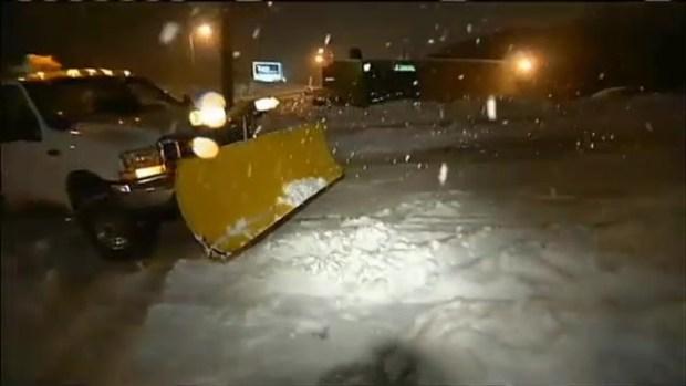 [NECN] Snow Removal Equipment Arrives in Massachusetts