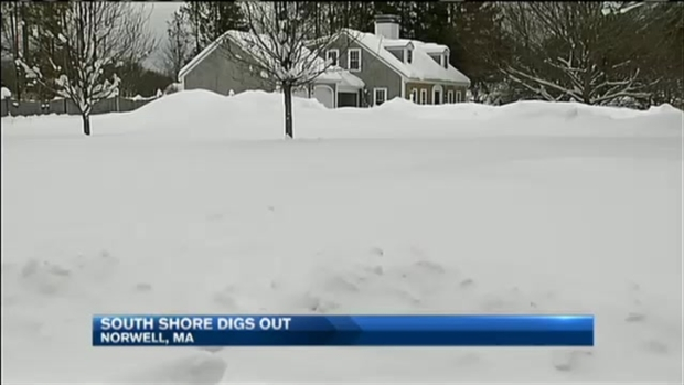 [NECN] Massachusetts Digging Out Before More Snow