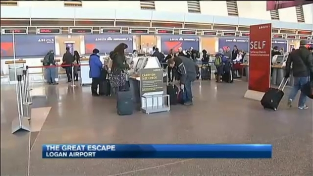 [NECN] The Great Escape From Logan Airport