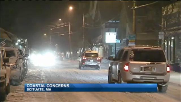 [NECN] Coastal Communities Bracing for Storm