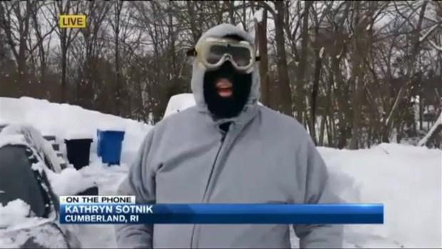 [NECN] Snow Slams Rhode Island