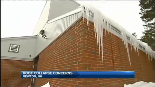 [NECN] New Hampshire Schools Closed Due to Roof Collapse Concerns