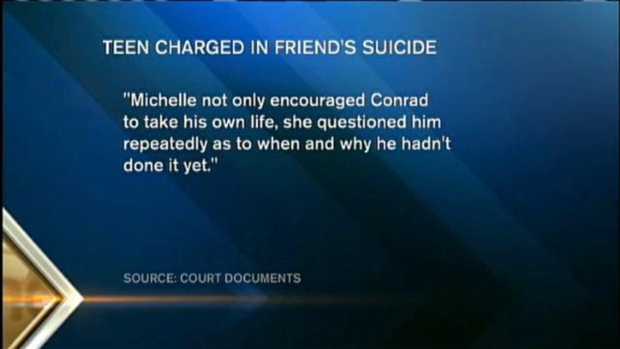 [NECN] Amid Friend's Manslaughter Charge, Family Mourns Teen After Suicide