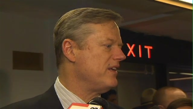 RAW: Baker Dodges Question on Trump