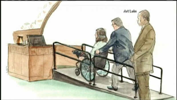 "[NECN] ""You Could Hear People Screaming"": Survivor Who Lost Legs Testifies in Tsarnaev Trial"