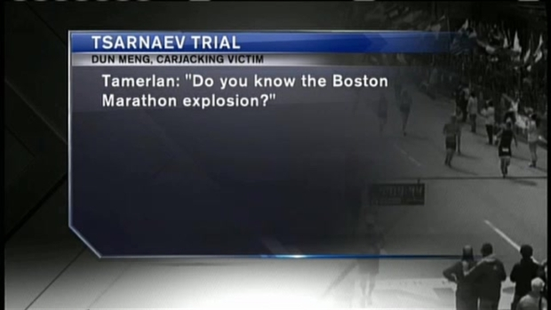[NECN] Jurors in Tsarnaev Trial See Video of Carjack Victim's Escape