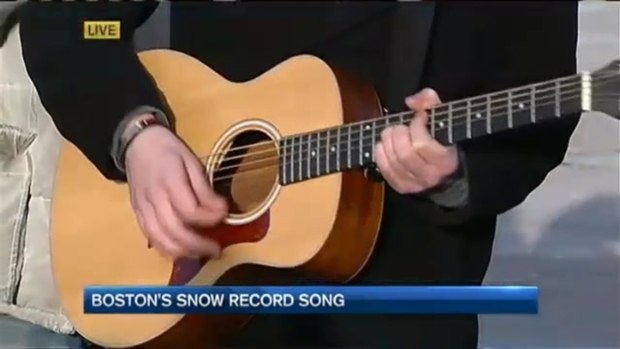 """[NECN] """"Snow Day"""" Writer Discusses Song"""