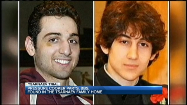 [NECN] FBI: Pressure Cooker Parts, BBs Found in Tsarnaev Family Home