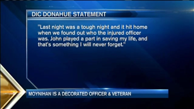 [NECN] Officer Wounded in Shooting Honored at White House