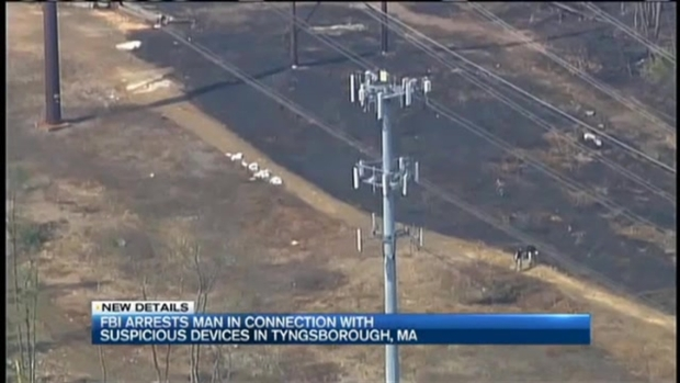 [NECN] Man Arrested After Suspicious Devices Found Hanging From Power Lines
