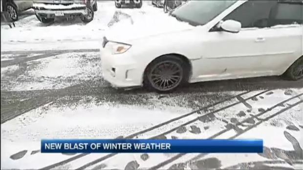 [NECN]Fitchburg Residents React to Springtime Snowstorm