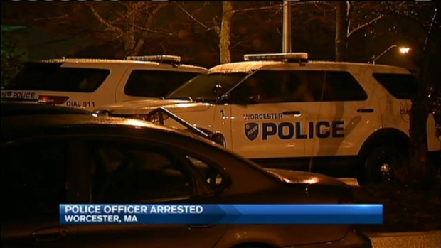 [NECN] Police Officer Arrested Amid Assault, Racism Accusations