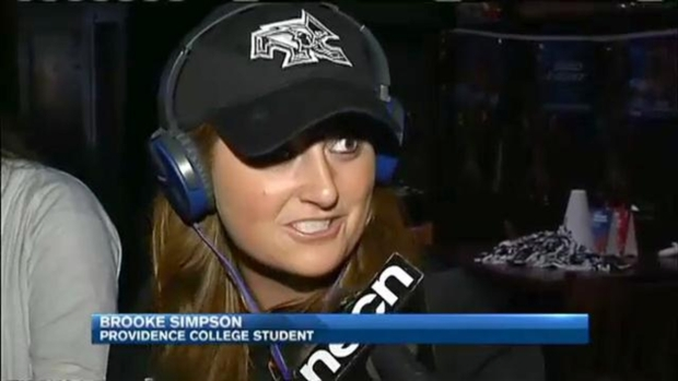 [NECN] BU, Providence Fans Excited for National Hockey Championship