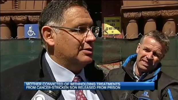 [NECN] Judge Grants Release of Woman Who Withheld Son's Cancer Medication