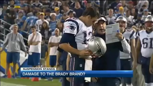 [NECN]Damage to Tom Brady's Brand?