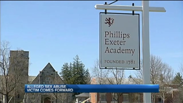 [NECN]Another Alleged Victim from Phillips Exeter Academy Comes Forward