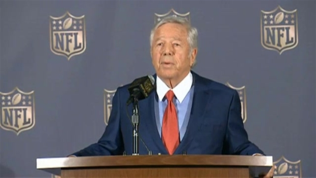 [NECN] Robert Kraft Says Patriots Won't Appeal NFL Commissioner's Decision