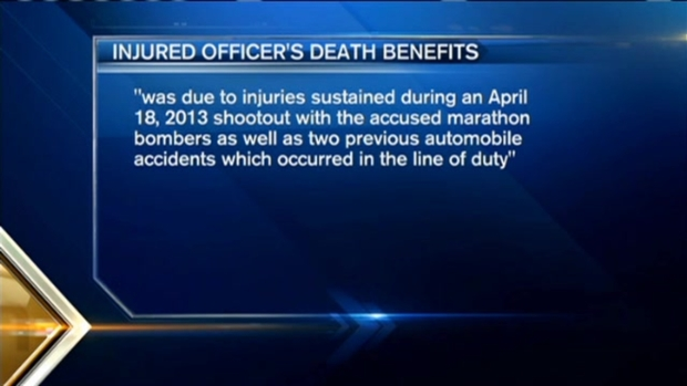 [NECN] Death Benefits Approved for Family of Boston Officer Wounded in Boston Marathon Shootout