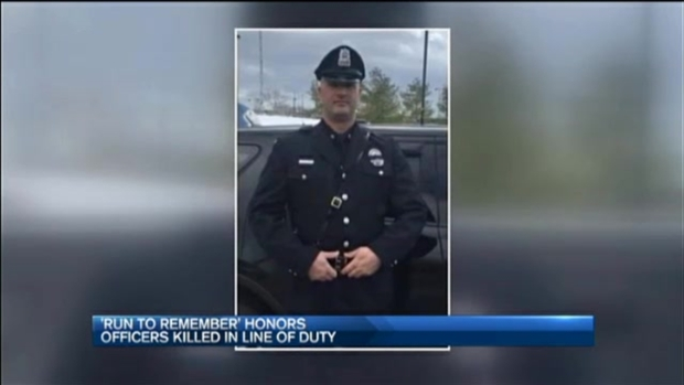 [NECN] 'Run to Remember' Honors Officers Killed in Line of Duty
