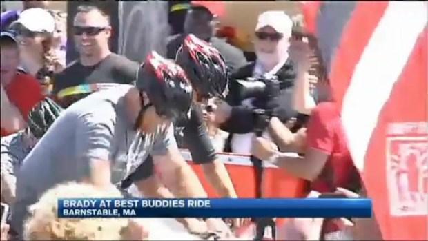 [NECN] Best Buddies Bike With Brady