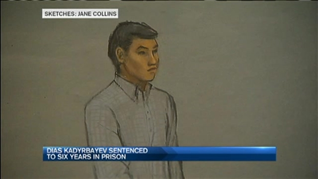 [NECN] Dias Kadyrbayev, College Friend of Boston Marathon Bomber Dzhokhar Tsarnaev, Sentenced to 6 Years in Prison