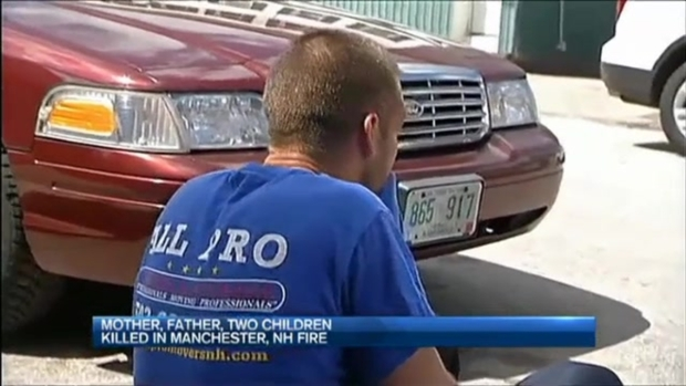 [NECN] Family Members, Neighbors Remember Manchester, New Hampshire Family Lost in Fire