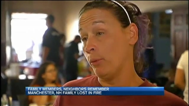 [NECN] Friends and Family Mourn Loss of Family in Manchester, N.H. During Vigil