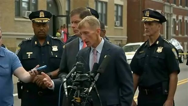 [NECN] Boston Police Commissioner William Evans on Death of Teen: 'Too Many Guns'