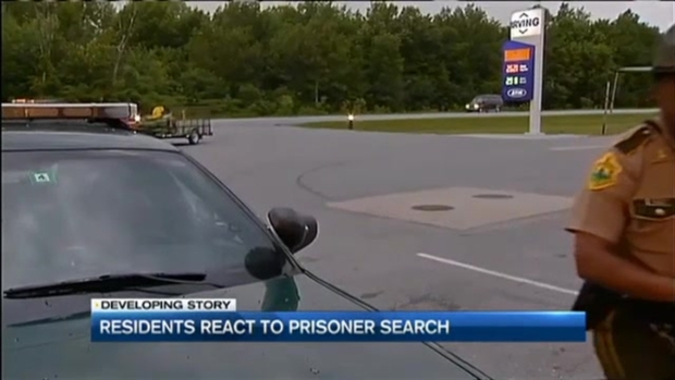 [NECN] Manhunt for Fleeing Killers Extends Into Vt.