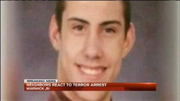 [NECN] Rhode Island Neighbors React to Terror Investigation Arrest