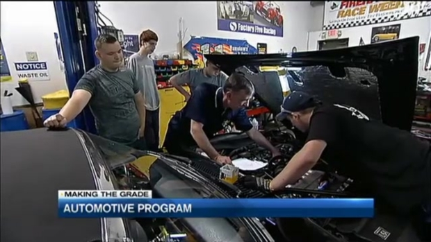 [NECN] Automotive Program for Teens With Learning Challenges